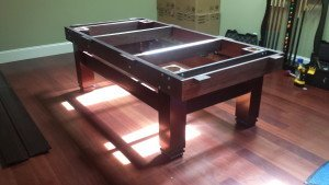 Pool and billiard table set ups and installations in Yuba City California